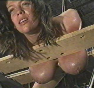 sore titties in bondage