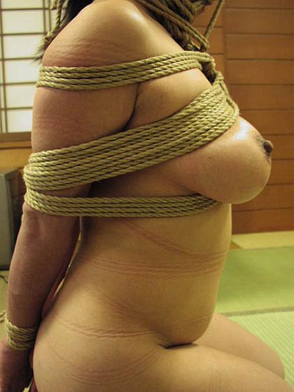 well tied japanese bondage boobs