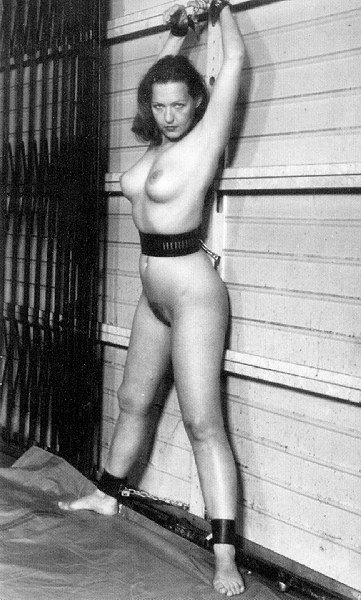 vintage breast bondage