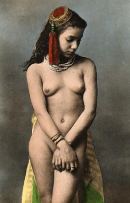 nude harem girl from french algeria