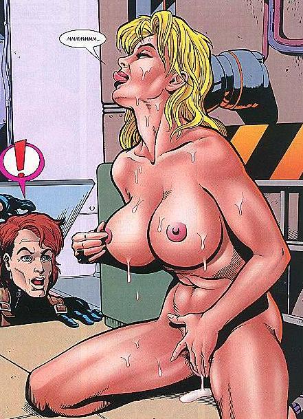 cartoon titty masturbation