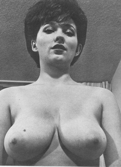 pretty titties from a vintage mens magazine