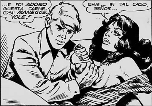 italian fumettie comic book titties