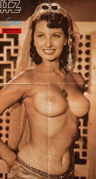 sophia loren naked boobs