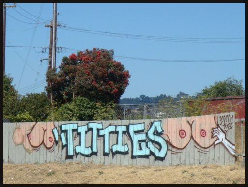 titties graffiti